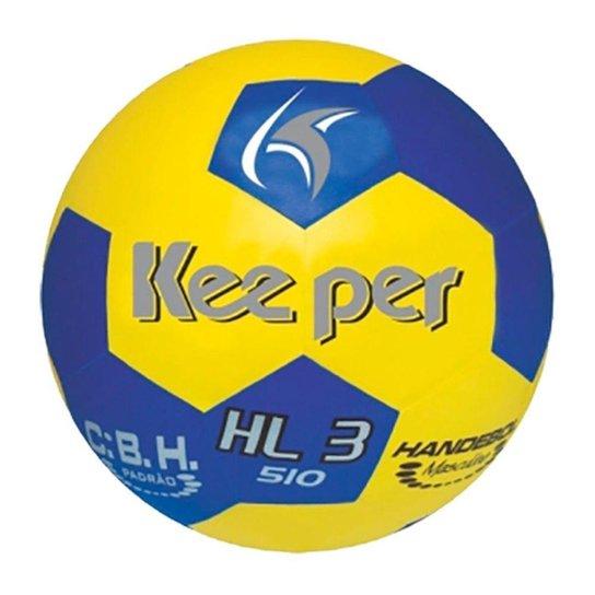 Bola Handebol Keeper  H3L PVC - Amarelo