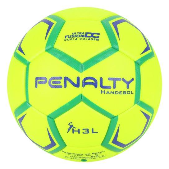 Bola Handebol Penalty H3L Ultra Fusion X - Amarelo+Verde