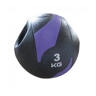 Bola Liveup De Peso Medicine Ball Ls3007A/3 Com Pegada 3Kg
