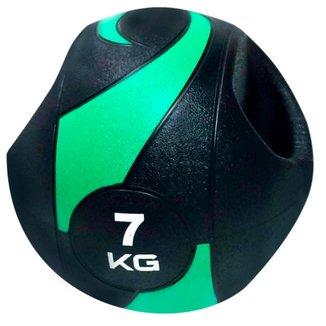 Bola Liveup De Peso Medicine Ball Ls3007A/7 Com Pegada 7Kg