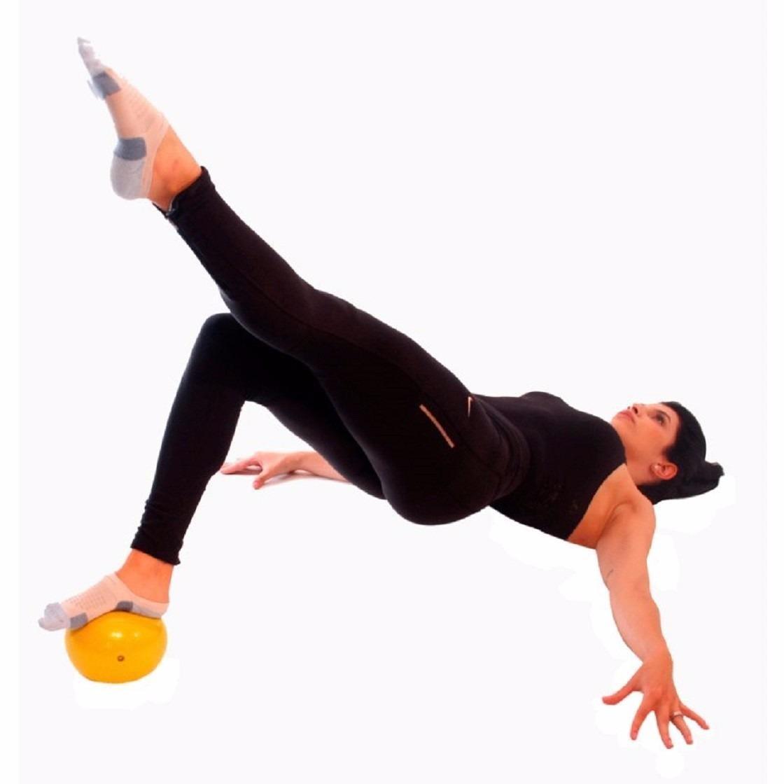 Bola Liveup Pilates Overball Funcional Academia 25 cm - Laranja ... f2d4de3e6b0a7