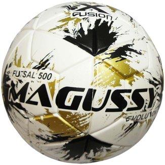 Bola Magussy Max 500 Evolution X-Fusion Futsal Impermeável