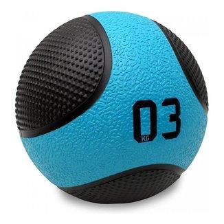 Bola Medicine Ball 3 Kg Peso Cross Funcional - Liveup Sports
