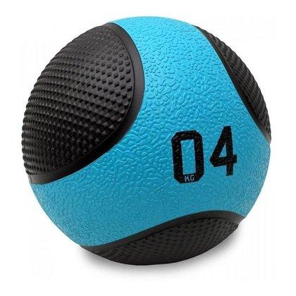 Bola Medicine Ball 4 Kg Peso Cross Funcional - Liveup Sports
