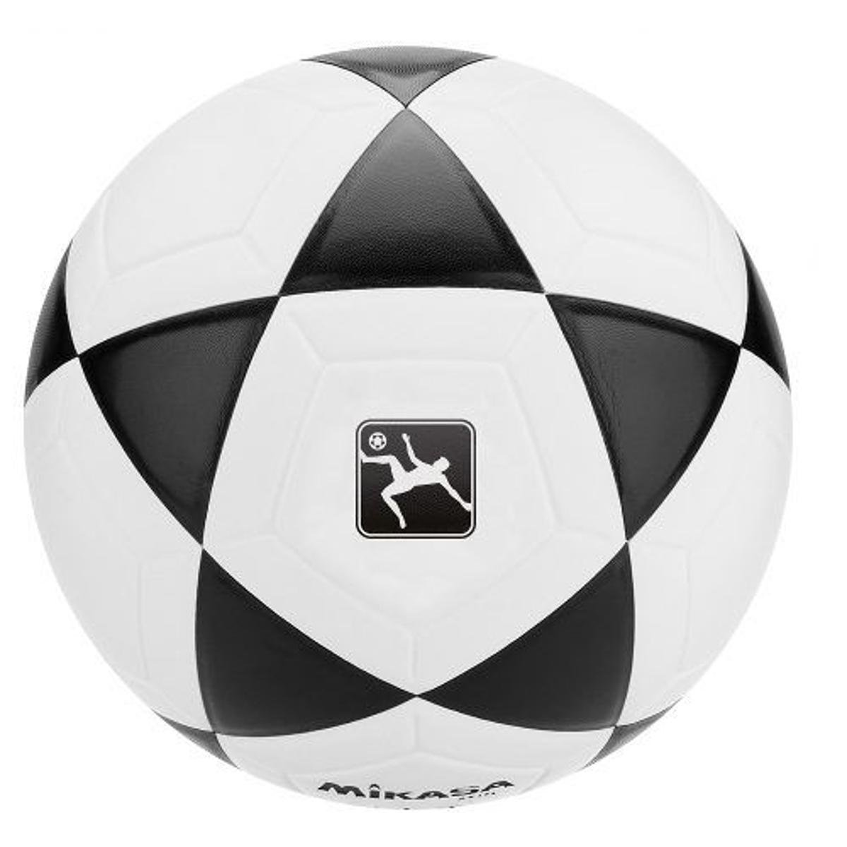 afa3ecf62c Bola Oficial de Futevôlei FT-5 Padrão FIFA Mikasa - Branco e Preto ...