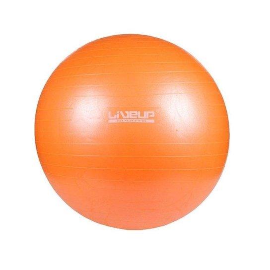 Bola Para Yoga Pilates Fisio Overball Liveup Ls3225 - Laranja