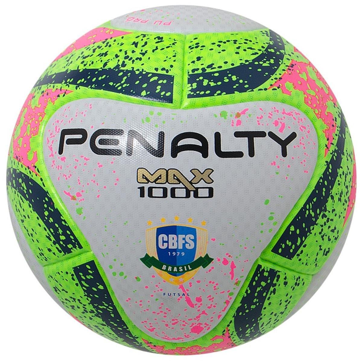 Bola Penalty Futsal Max 1000 Termotec Vii - Compre Agora  7ab06d2c778ff
