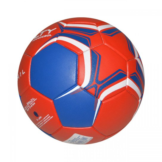 Bola Penalty Handebol HL1 Ultra Fusion VII - Vermelho+Azul