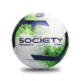 Bola Penalty Society Lider XXI UNICO BRANCO/VERDE