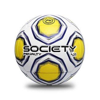 Bola Penalty Society S11 R2 XXI UNICO BRANCO/AMARELO
