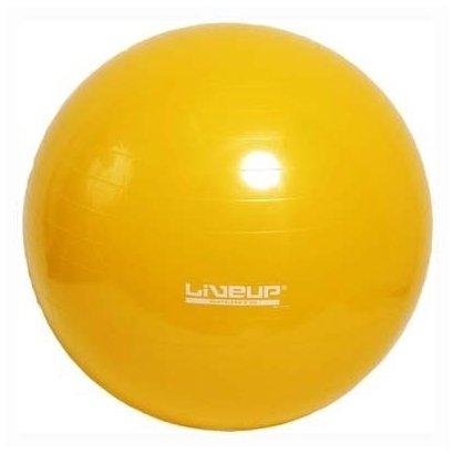 Bola Pilates Yoga Fitball Liveup - 75Cm - Amarelo - Unissex