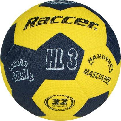Bola Raccer Handebol HL3     Masculino