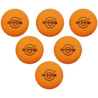 Bola Shield Brand Tênis de Mesa / Ping Pong - 6 uni.