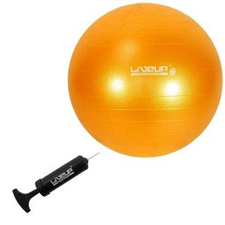 Bola Suiça para Pilates 75cm LiveUp Premium