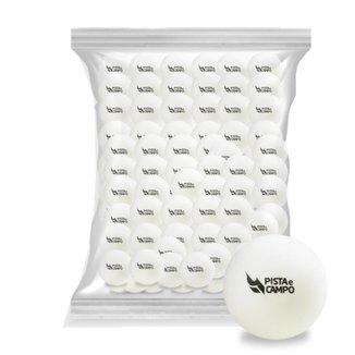 Bola Tênis De Mesa Bolinhas Ping Pong Branca - kit 100un