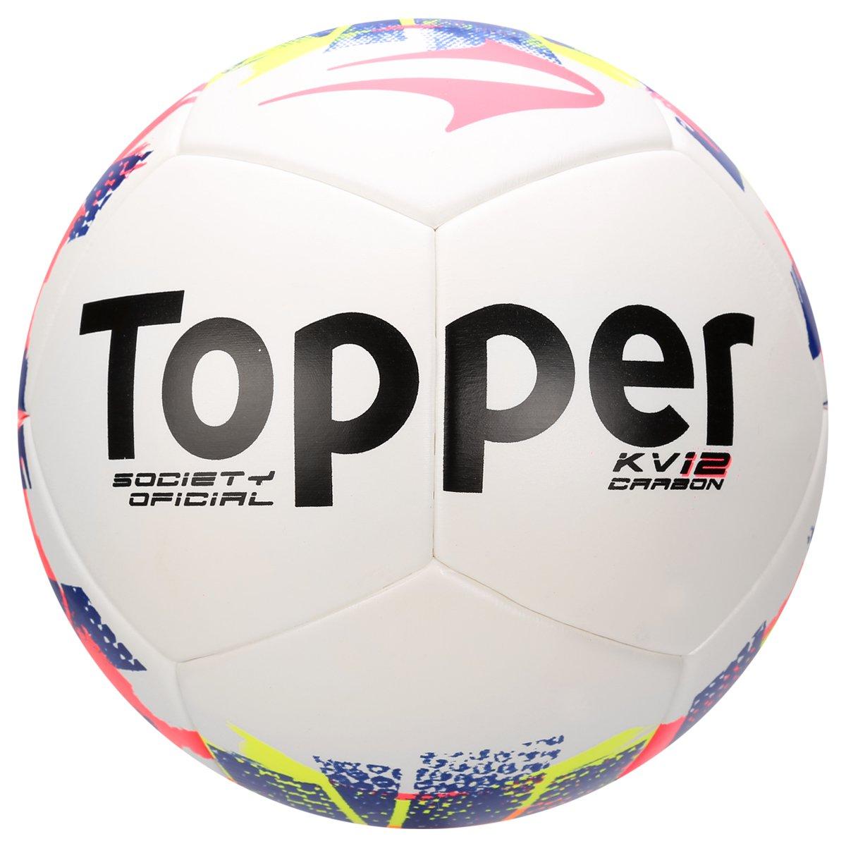 Bola Topper KV Carbon League Society - Compre Agora  72d56f3765a4e