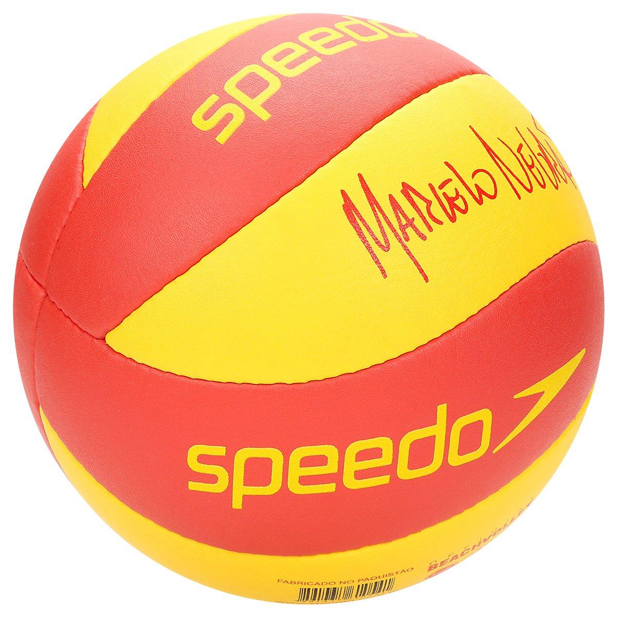 18af45715c Bola Vôlei De Praia Speedo Pro - Amarelo e Vermelho - Compre Agora ...
