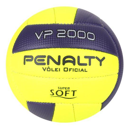 Bola Vôlei Praia Penalty VP 2000 X - Amarelo+Roxo