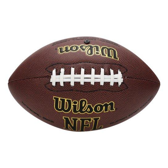 Bola Wilson NFL Super Grip Composite - Marrom Escuro