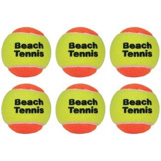Bolas De Beach Tennis Lcm Com 6 Unidades