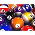 Bolas Gold Sports Snooker Sinuca 16 Bolas 52mm Numeradas