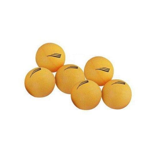Bolas p/ Ping Pong 40mm - 6 Unidades - Nautika - Laranja