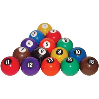 Bolas p/ Snooker Procópio Numeradas