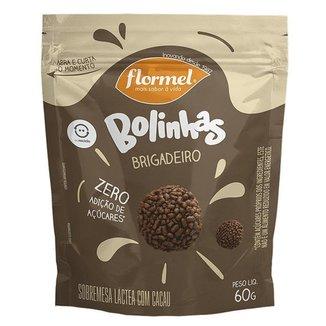 Bolinhas Flormel zero Lactose 60g - Doce de leite c/coco