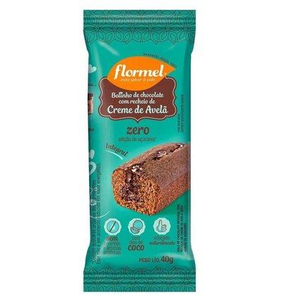 Bolinho Integral Flormel Chocolate com Avelã 40g