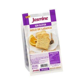 Bolo Sem Glúten Laranja e Chia 300g  Jasmine
