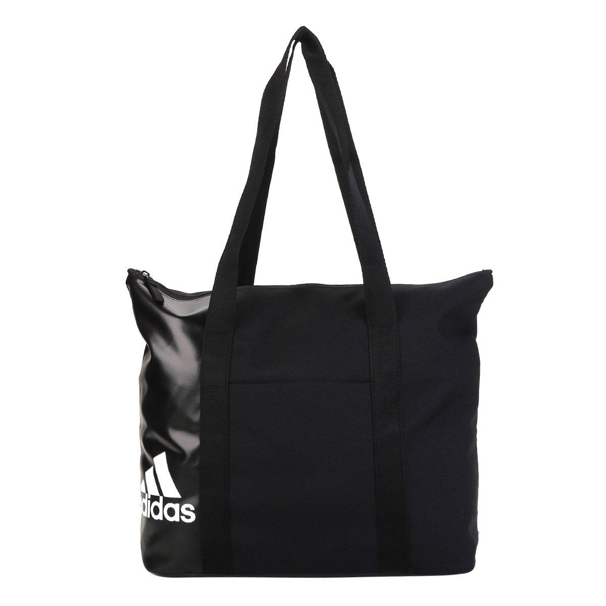 authentic quality get new professional sale Bolsa Adidas Tote Essentials Feminina - Preto e Branco