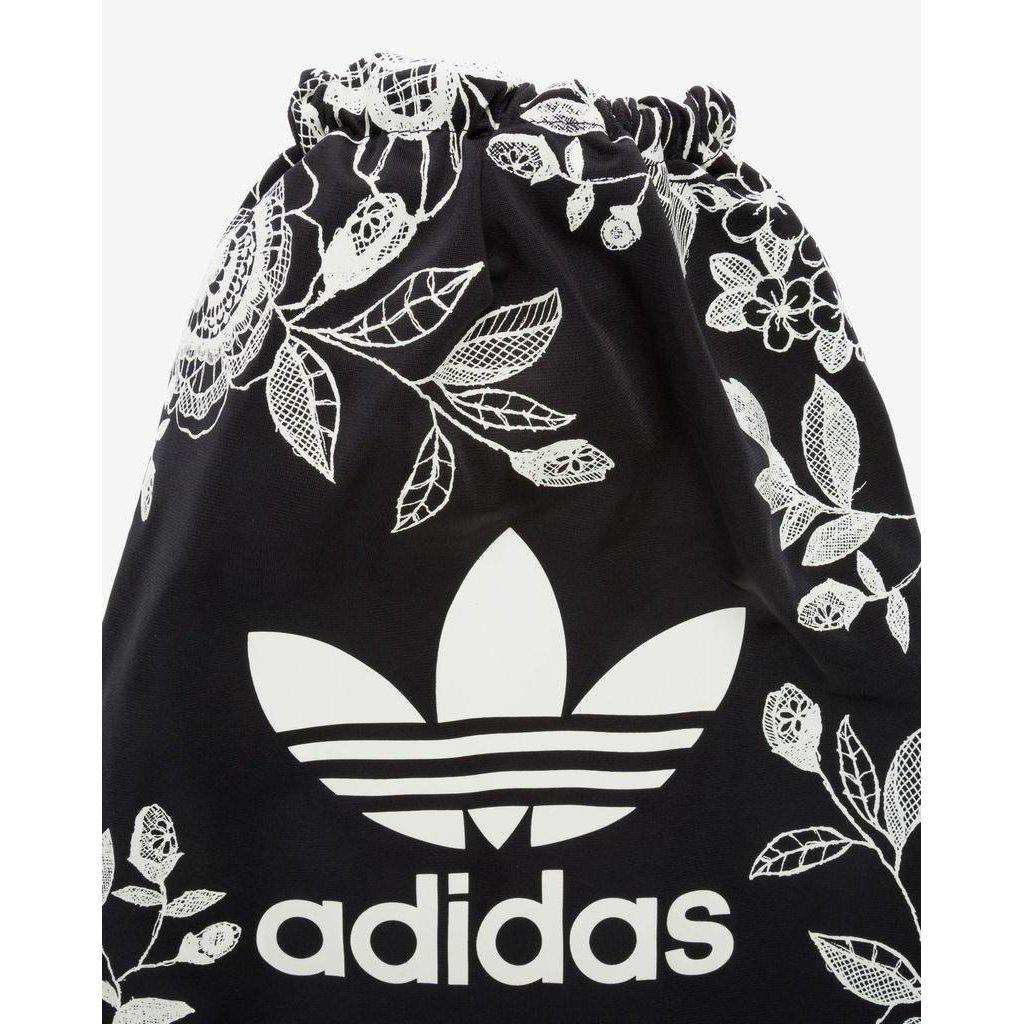Bolsa Adidas x Farm Academia Branco e Preto