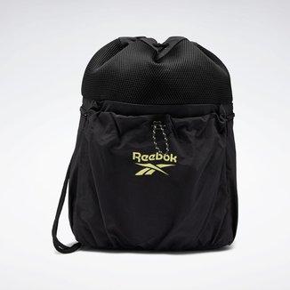 Bolsa com Cordão Bolso Mesh Reebok