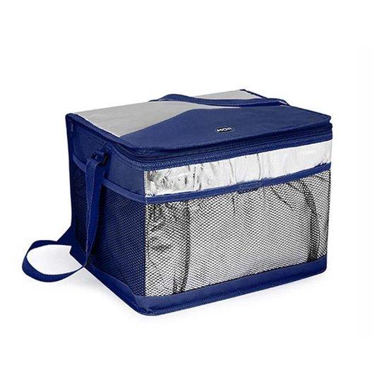 Bolsa Cooler Térmica 15 Lts Praia E Piscina - Mor - Azul