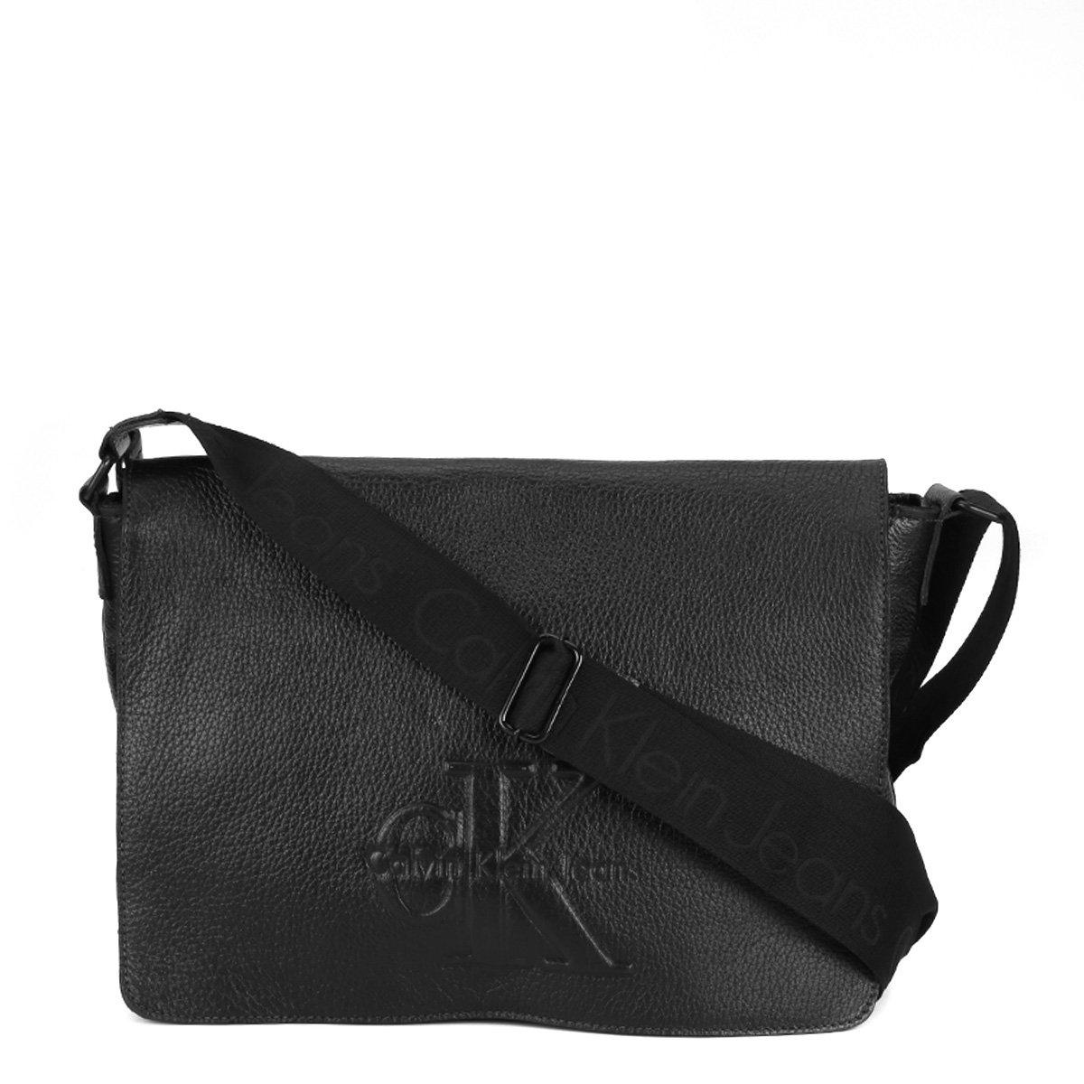 Bolsa Couro Calvin Klein Carteiro Masculina - Compre Agora   Netshoes 5706aa5325