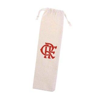 Bolsa de Algodão do Flamengo para Canudos e Talheres Ecológica UN