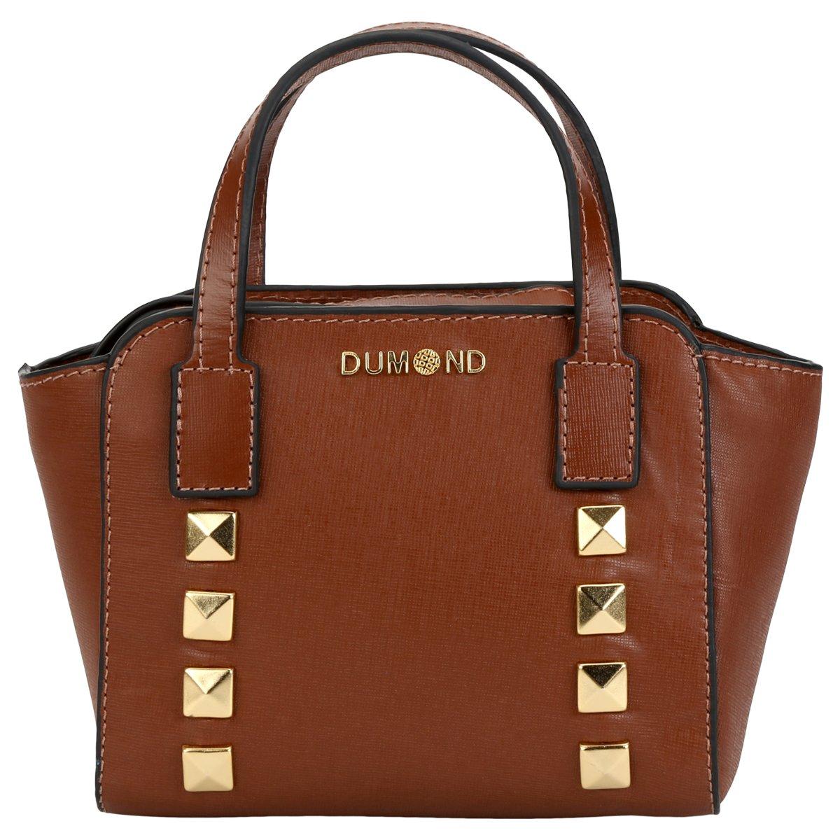 0b225bbe3 Bolsa Dumond Mini Bag Tachas | Netshoes