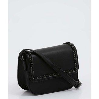 Bolsa Feminina Transversal Corrente Marisa - 10046535580