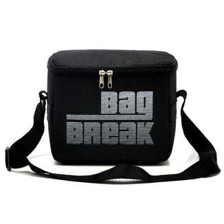Bolsa Lancheira Térmica Fitness Mid Sk Bag Break masculina