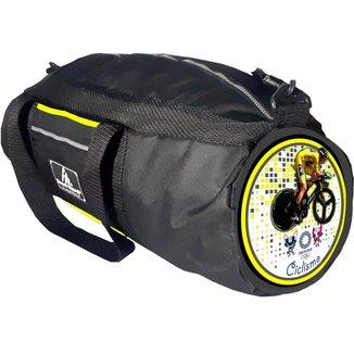 Bolsa / Mochila Bag - Grande E Temática P/ Ciclismo