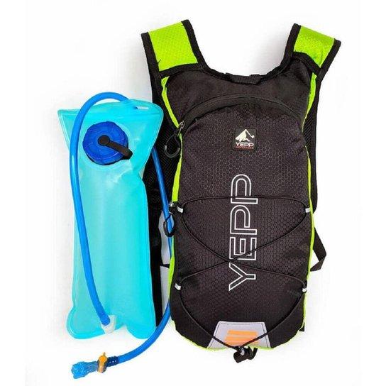 Bolsa Mochila Hidratação Yepp Camelbak 2litros Resistente Esporte - Verde