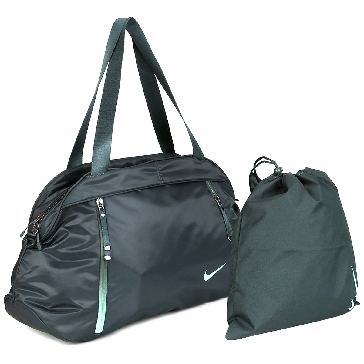 Verde Auralux Club Bolsa E Nike Feminina Preto Y7v6gbyf