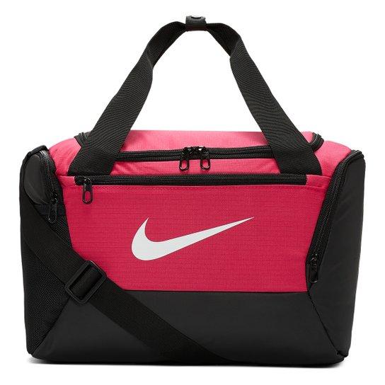 Bolsa Nike Brasilia Xs Duff 9.0 - 25 Litros - Rosa+Preto