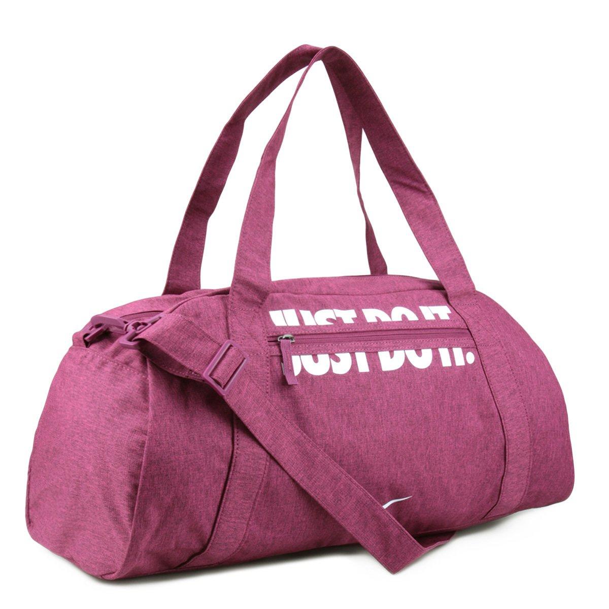 E Netshoes Feminina Club Branco Compre Bolsa Rosa Nike Agora Gym nzW7v a0a937d44170c