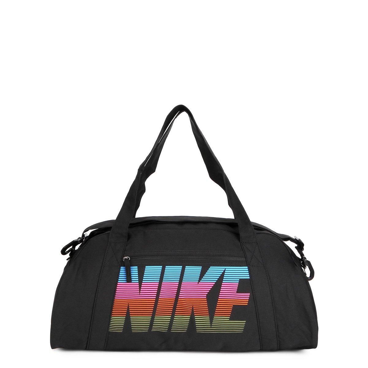 080dc17d0ec20 Bolsa Nike Gym Club Feminina - Preto e Rosa - Compre Agora