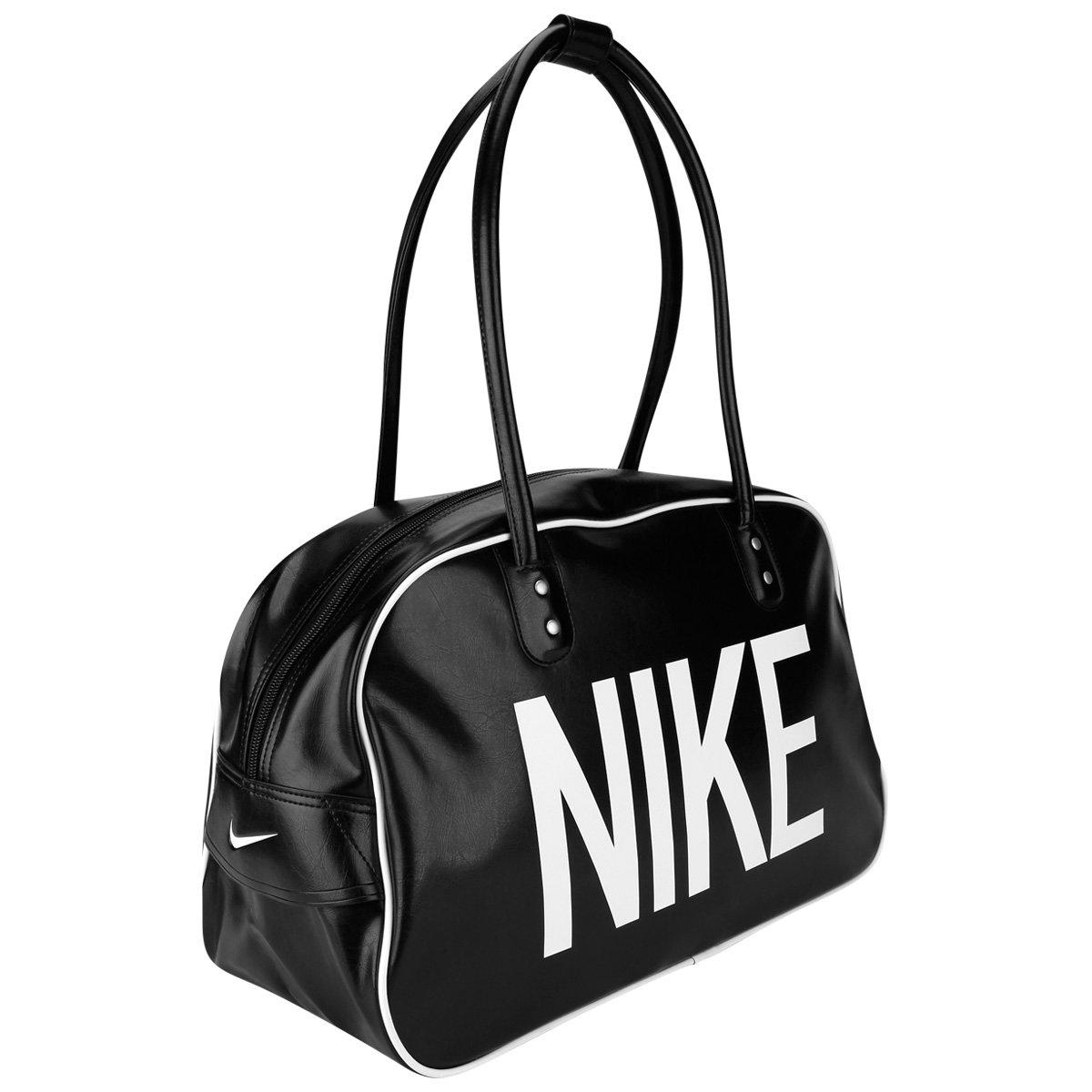 Nike Ad Bolsa Preto Heritage Club Shoulder Branco E edoQECxrBW