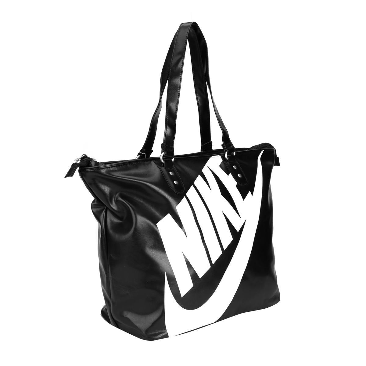 Bolsa Nike Heritage SI Tote - Branco e Preto cb96959684221