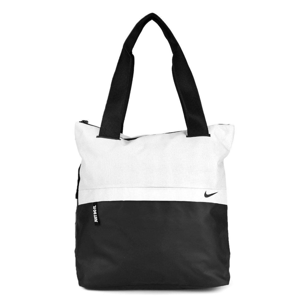 af23c6d25e374 Bolsa Nike Radiate Tote Feminina - Cinza e Preto - Compre Agora ...