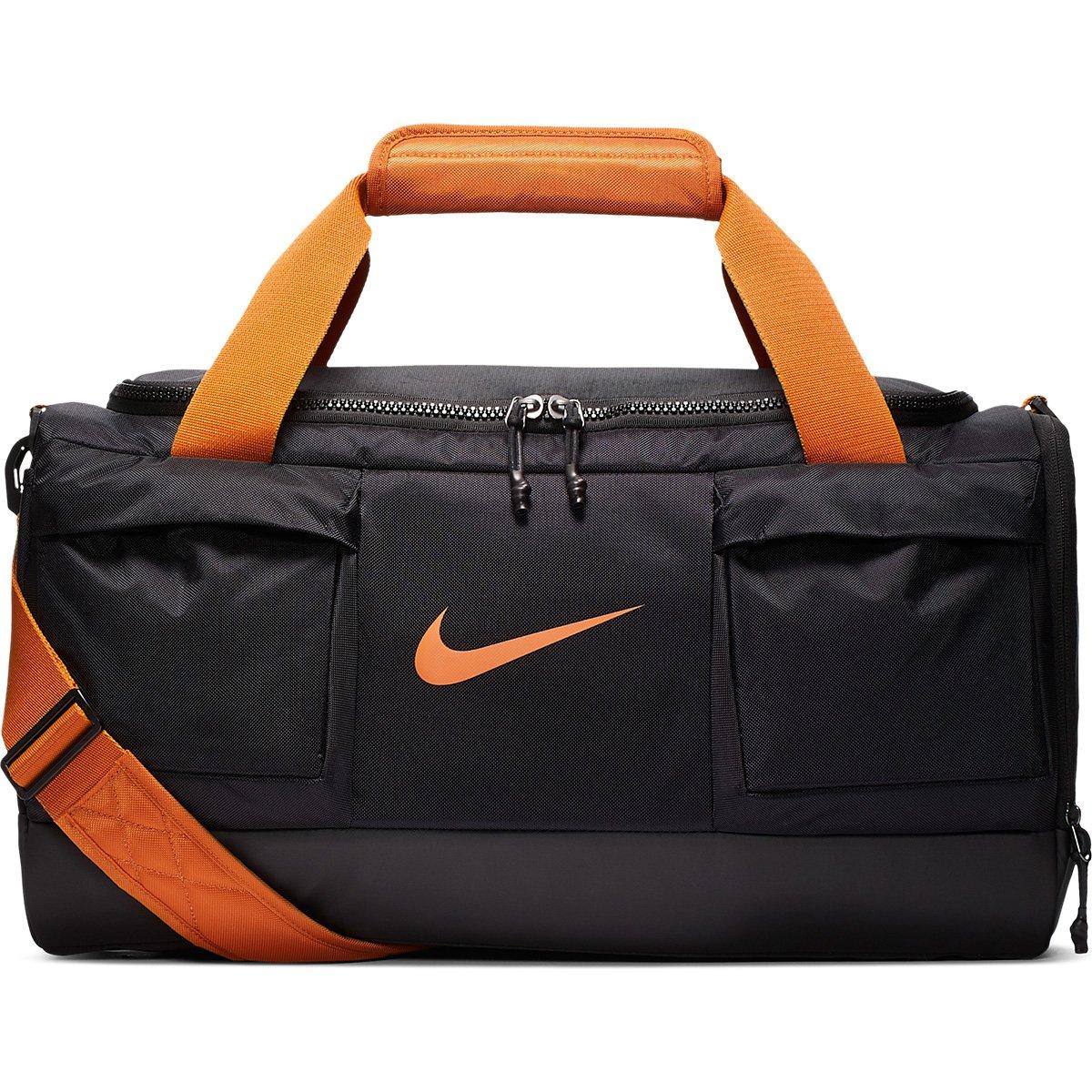 Indirecto Abultar Efectivamente  Bolsa Nike Vapor Power Pequeno Duff - Preto e Laranja | Netshoes