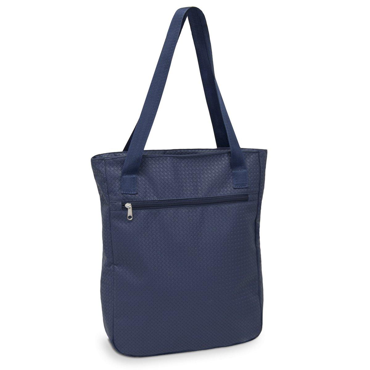 d5b6a6bfe Bolsa Pasta Tote Bag LS Bolsas com alças de ombro e bolso frontal